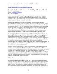 Potato IPM Should Focus on Pesticide Reduction - Share4Dev.info