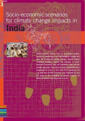 Socio-economic scenarios for climate change ... - Share4Dev.info