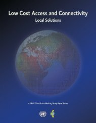 Low Cost Access and Connectivity - Share4Dev.info