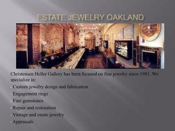 Estate Jewelry Oakland