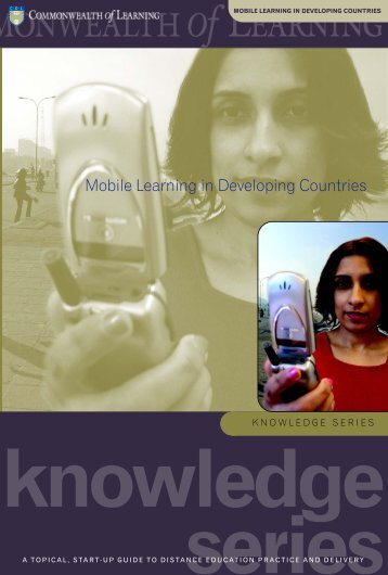 Mobile Learning in Developing Countries - Commonwealth of ...