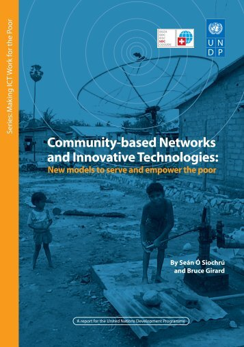 Community-based Networks and Innovative Technologies: - People ...