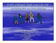 Why internet in tourism? - Share4Dev.info