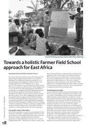 Towards a holistic farmer field school approach for East Africa
