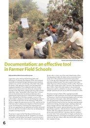 Documentation: an effective tool in Farmer Field ... - Share4Dev.info