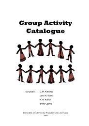 Group Activity Catalogue - Share4Dev.info