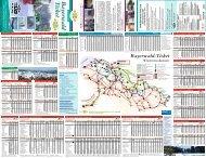 Fahrplankarte Winter 2011/2012 - Bayerwald Ticket