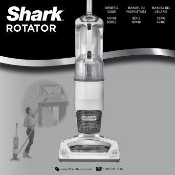 owner's guide nv400 series manuel du propriétaire série ... - Shark