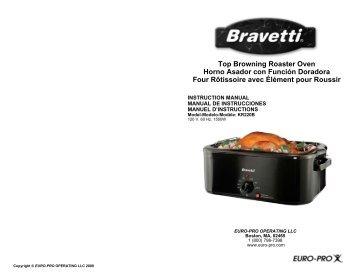 Top Browning Roaster Oven Horno Asador con Función ... - Shark