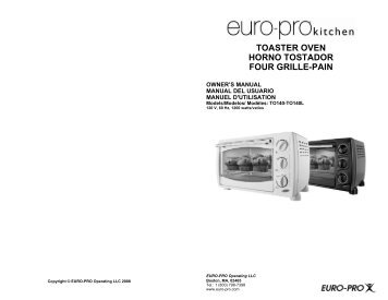 toaster oven horno tostador four grille-pain - BrandsMart USA