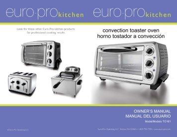 convection toaster oven horno tostador a convección - Shark