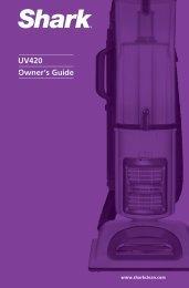 Owner's Guide UV420 - Shark