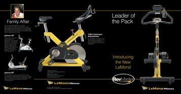 Leader of the Pack - LeMond Fitness Benelux