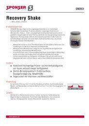 Recovery Shake - Shark Fitness-Shop