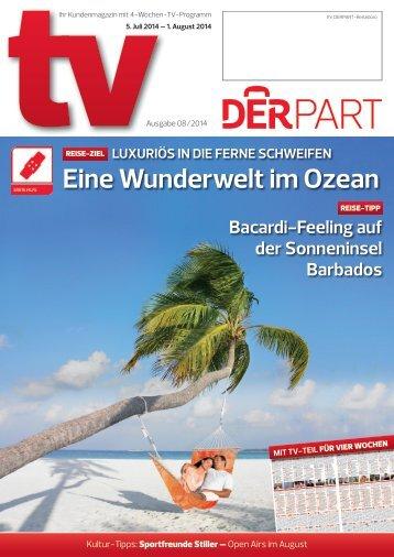 DERPART TV  - Ausgabe 08/14