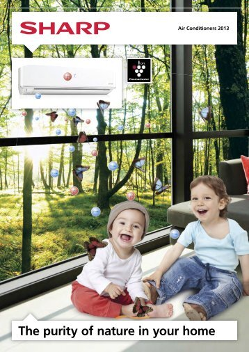 Air Conditioners 2012 FLEXIBLE AIR CONDITIONING UNITS - Sharp