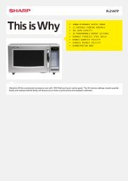 R-21ATP-Microwave Commercial MWO - Sharp Electronics