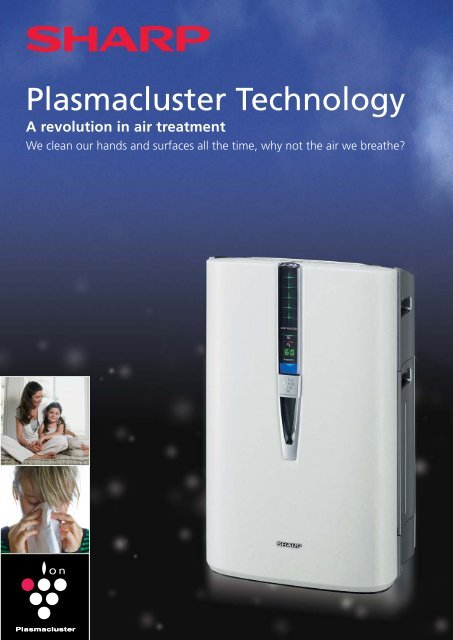 Plasmacluster Brochure - Sharp