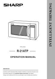 R-21ATP Operation-Manual GB - Sharp