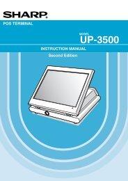 UP-3500 - Sharp Electronics