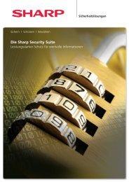 Datensicherheit - Sharp
