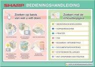 MX-4100N/4101N/5000N/5001N Operation-Manual NL - Sharp