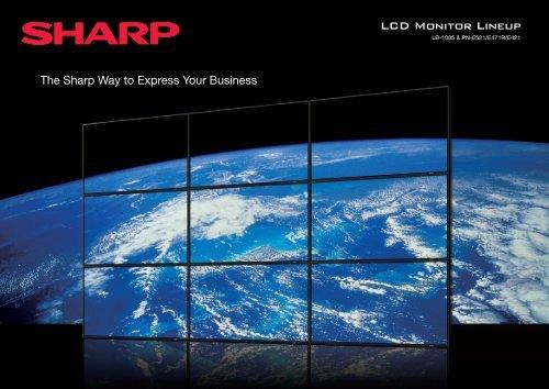 LCD Monitor Lineup - Sharp-Roxy (Hong Kong)