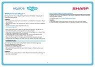 Willkommen bei Skype™ - Sharp