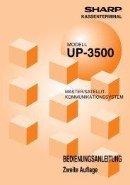 UP-3500 - Sharp