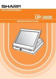 UP-3500 Operation-Manual DE - Sharp