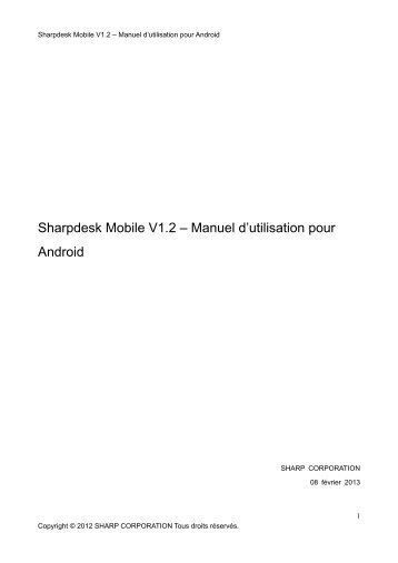 Android - Sharp