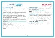 LC-40/46/52/60LE8xx Operation-Manual Skype LT - Sharp