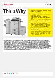 MX-M503N-Daugiafunkcis spausdintuvas, nespalvotas - Sharp ...