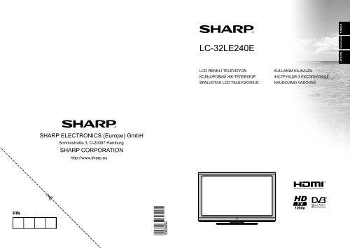 LC-32LE240E Operation-Manual LT - Sharp