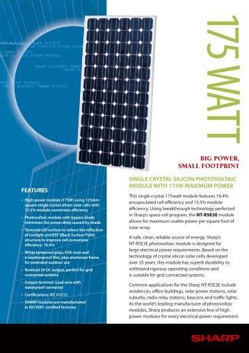 NT-R5E3E - Solco Solar Product