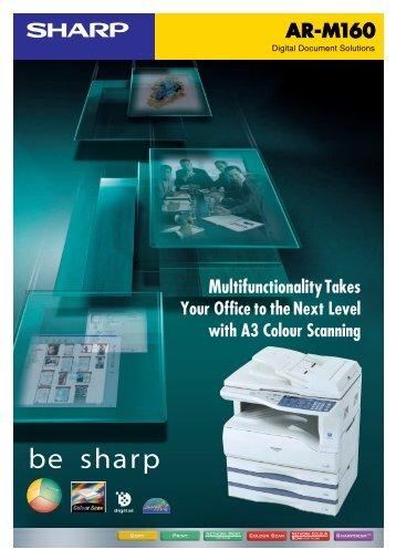 ARM160 Brochure - Sharp Corporation of Australia
