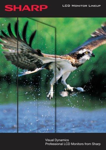 Monitor Range Brochure 2011 - Sharp Corporation of Australia