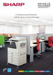 MXM310 Brochure - Sharp Corporation of New Zealand