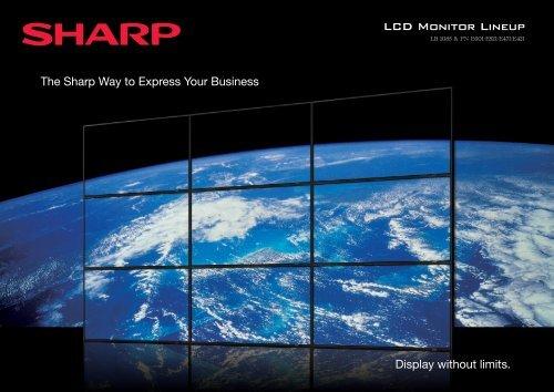 PNE Series Range Brochure - Sharp Corporation of New Zealand