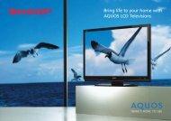 LC42A63X Brochure - Sharp Corporation of New Zealand