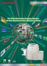 ARC270 Brochure - Sharp Corporation of New Zealand