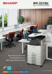 MX2310U Brochure - Sharp Corporation of New Zealand