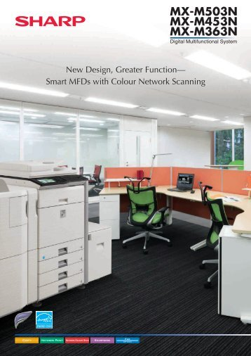 MXM363N Brochure - Sharp Corporation of New Zealand