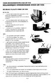 VC-FH300GM Operation-Manual NL - Sharp - Page 5