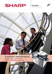 A Fast Black & White Workgroup Multifunction System with Colour ...