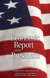 Economic Report - The American Presidency Project