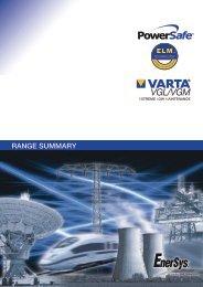 VGL/VGM - Enersys - EMEA