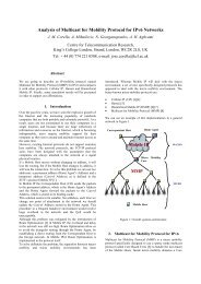 MMP Analysis of Multicast for Mobility Protocol for IPv6 Networks ...