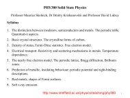Professor Skolnick's lecture notes