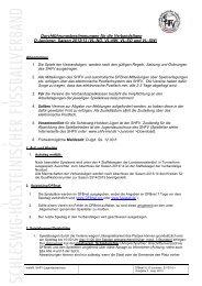 Durchführungsbestimmungen VL Saison 2013/14